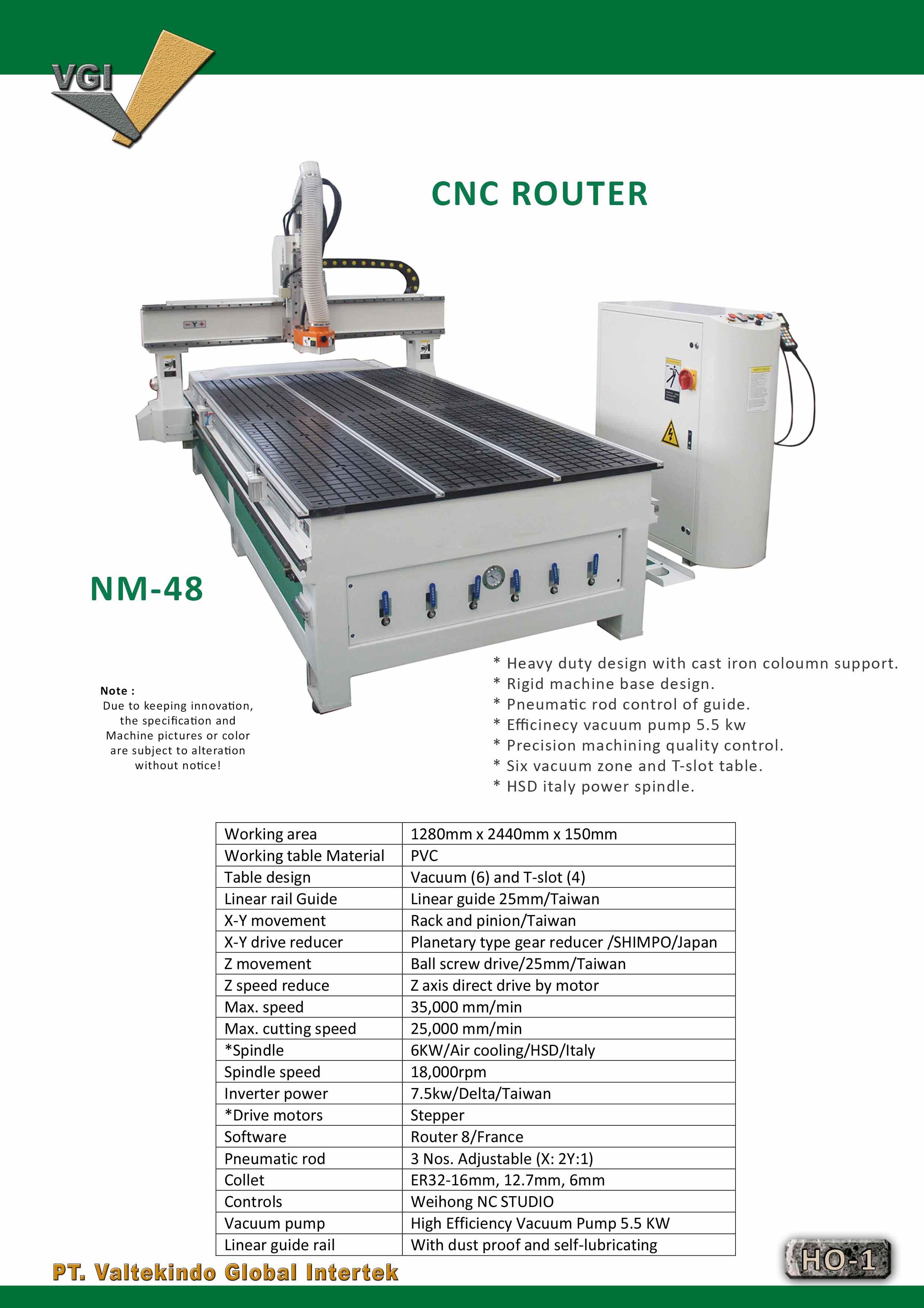 jual mesin, harga mesin, distributor mesin, jual mesin karet, daur ulang plastik CNC Router 3 CNC Router 3