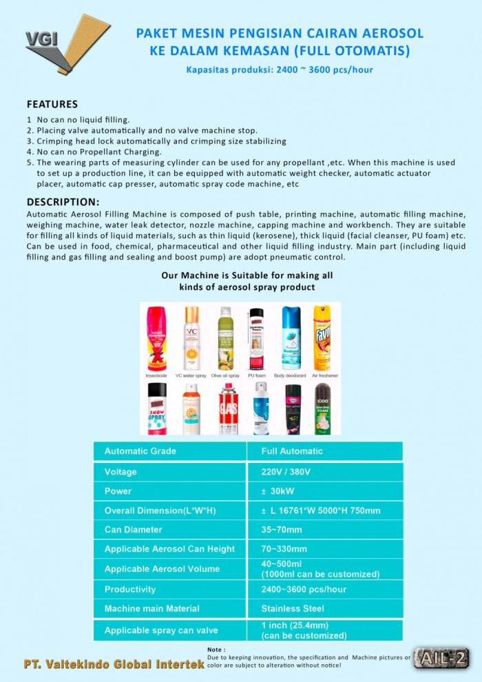 jual mesin, harga mesin, distributor mesin, jual mesin karet, daur ulang plastik Paket Mesin Pengisian Cairan Aerosol 2