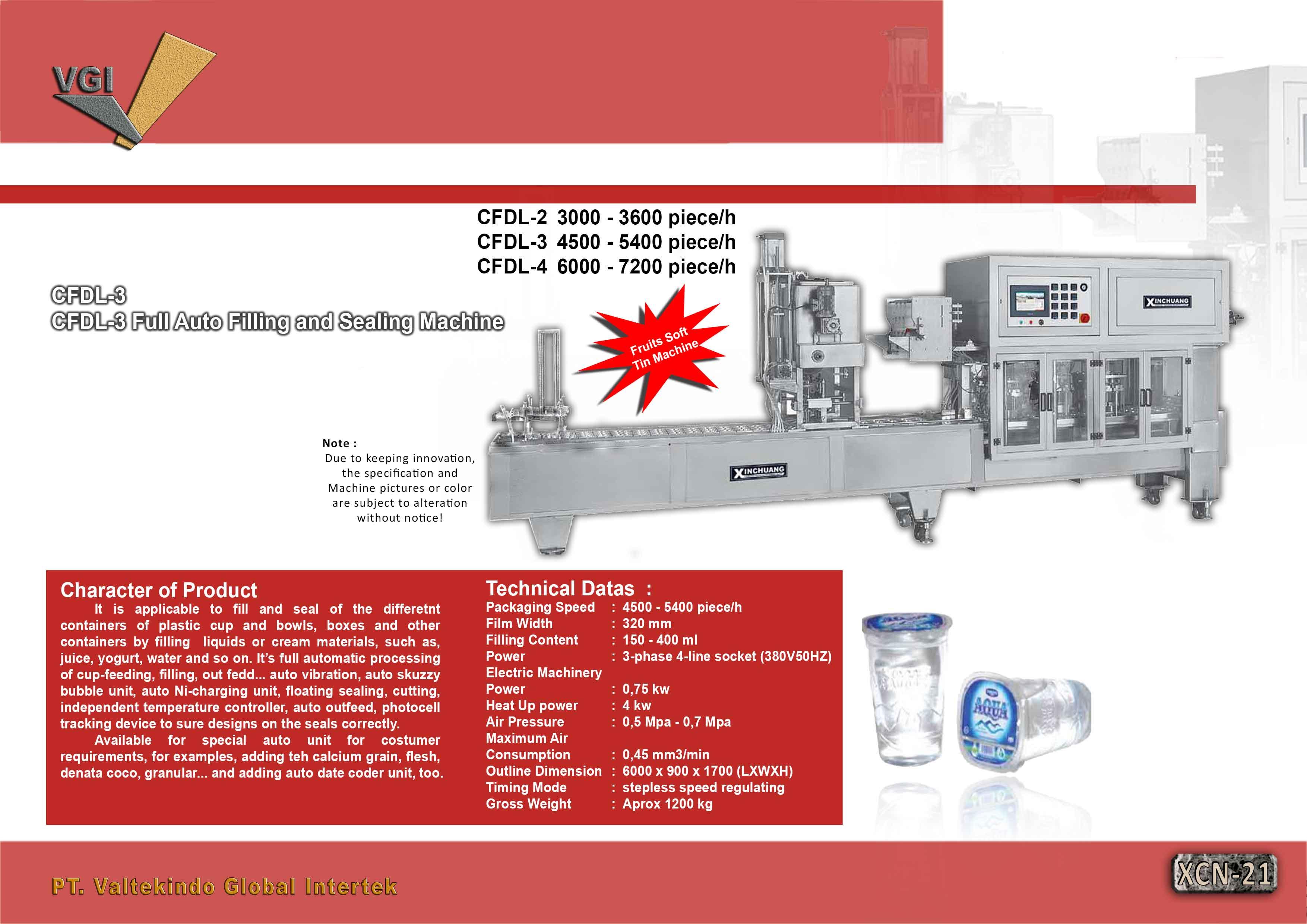 jual mesin, harga mesin, distributor mesin, jual mesin karet, daur ulang plastik  Full Auto Filling and Sealing Machine4  Full Auto Filling and Sealing Machine4