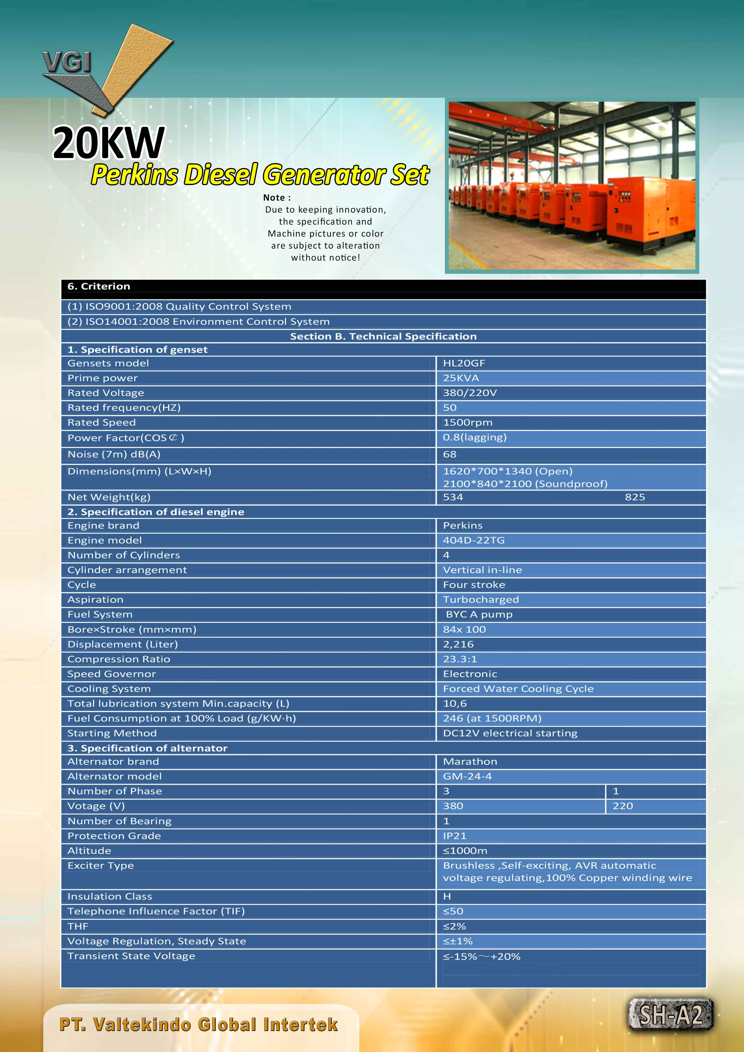 jual mesin, harga mesin, jual mesin bandung, distributor mesin, jual mesin karet, daur ulang karet, daur ulang plastik, mesin pertanian 20 KW Perkins Diesel Generator Set 20 KW Perkins Diesel Generator Set