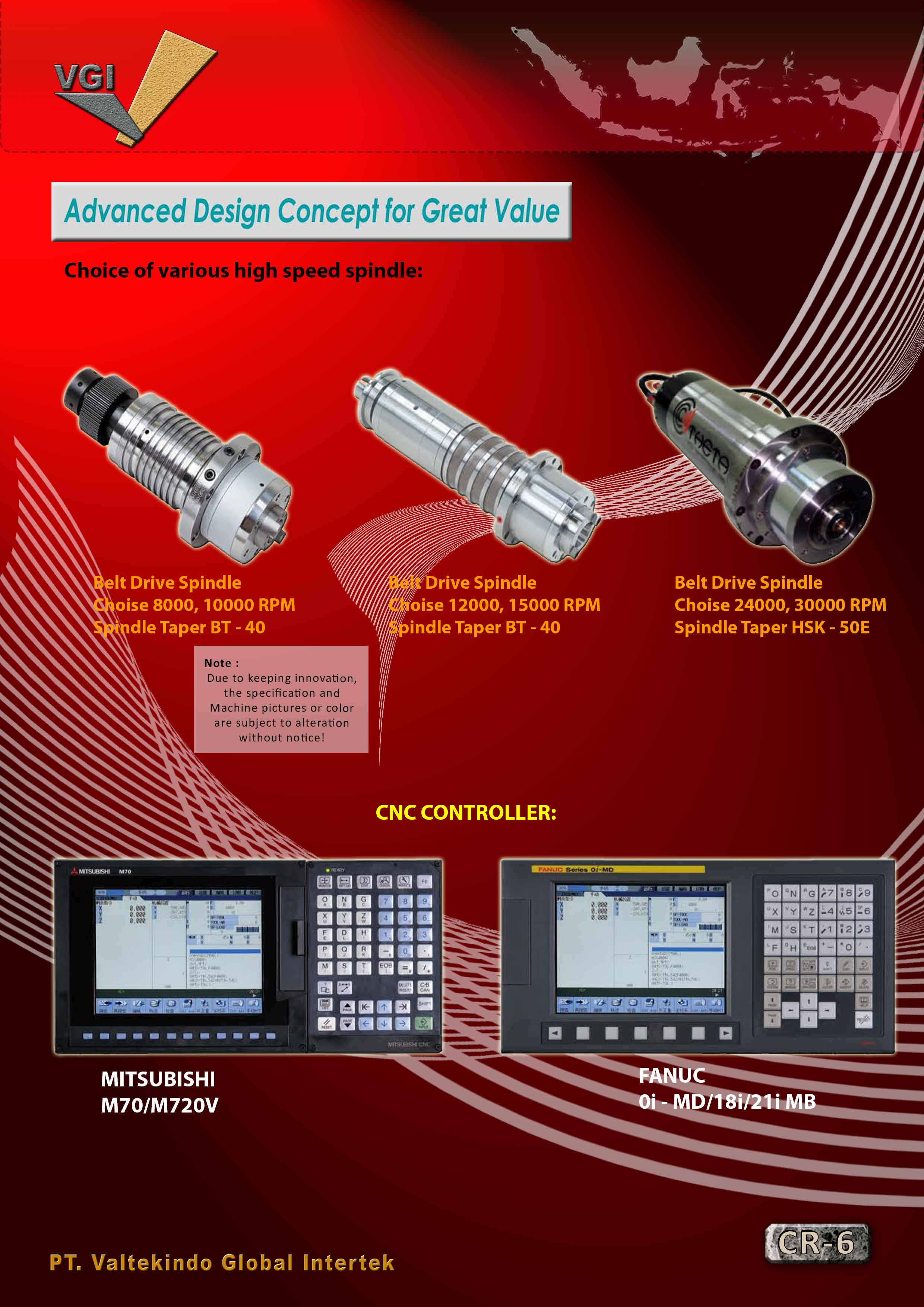 jual mesin Advanced Design Concept for Great Value 4