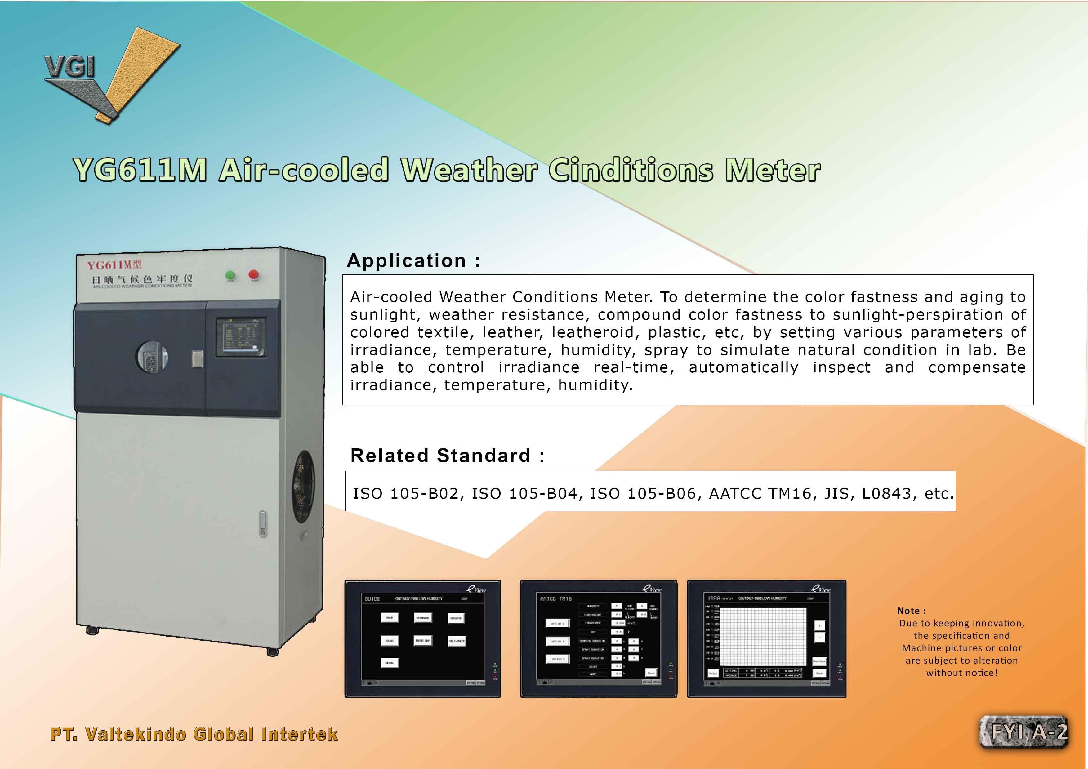 jual mesin Air Cooled Weather Cinditions Meter Air Cooled Weather Cinditions Meter