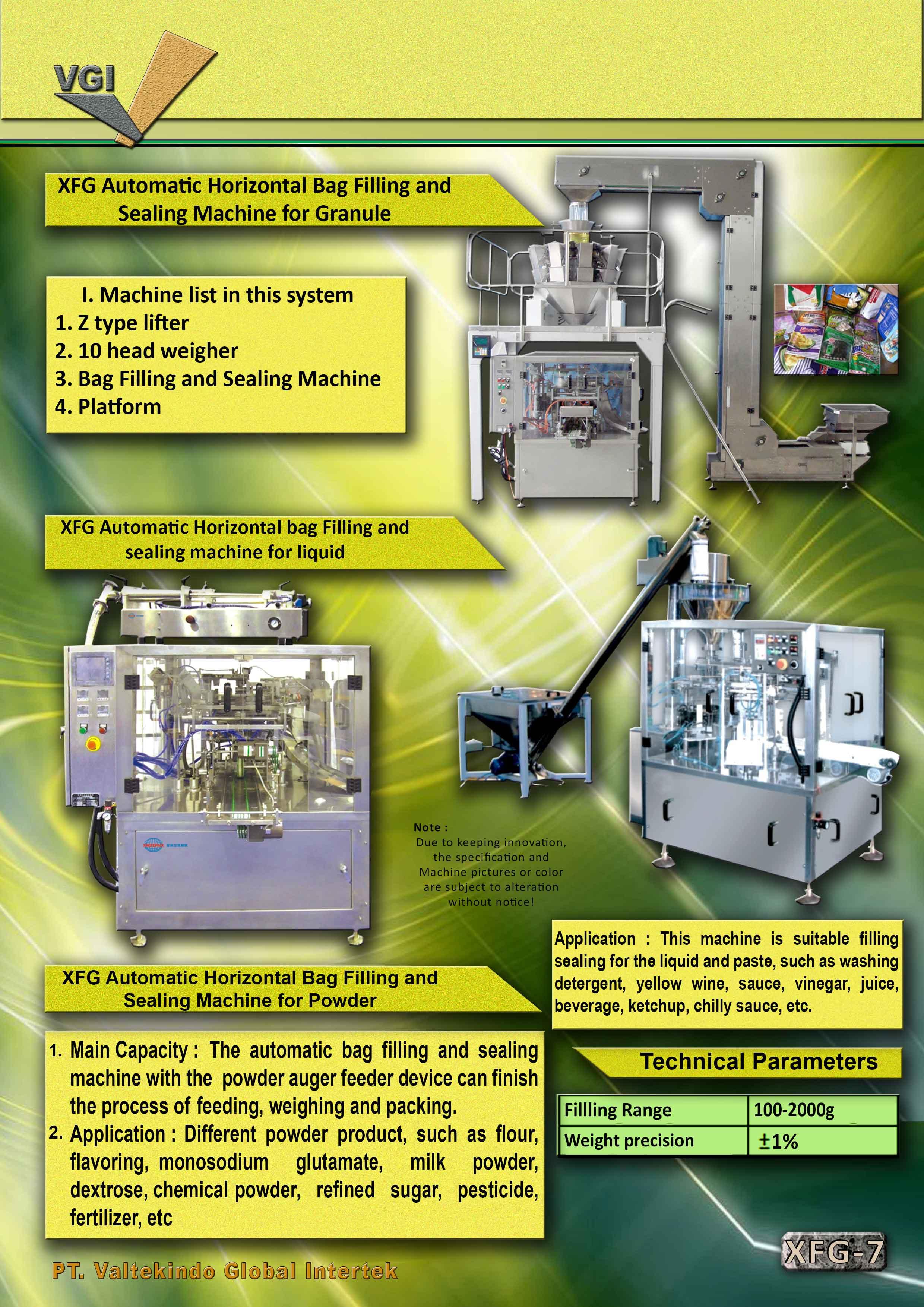 jual mesin Automatic horizontal bag filling and sealing machine2 Automatic horizontal bag filling and sealing machine2