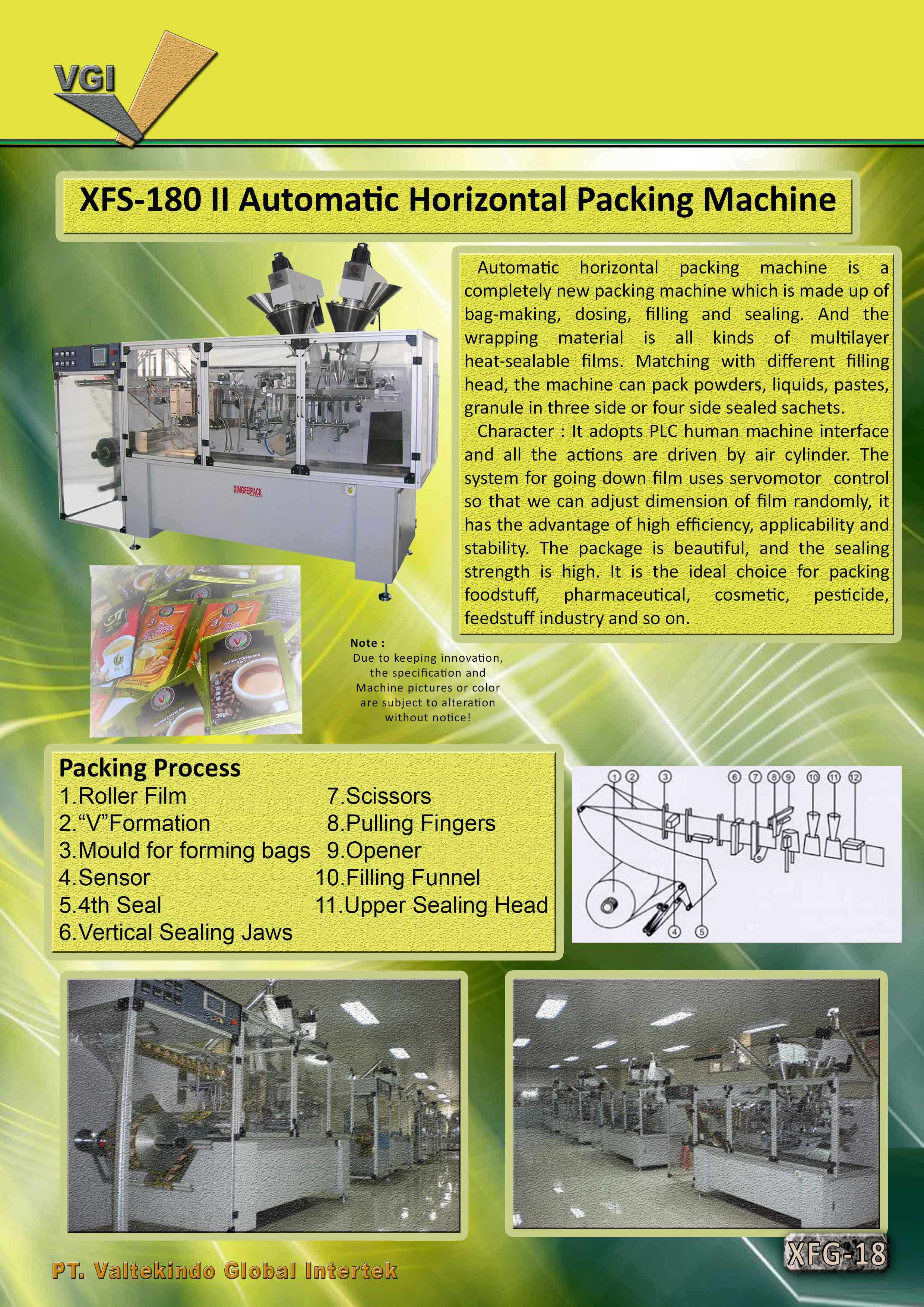 jual mesin Automatic Horizontal Packing Machine2 Automatic Horizontal Packing Machine2
