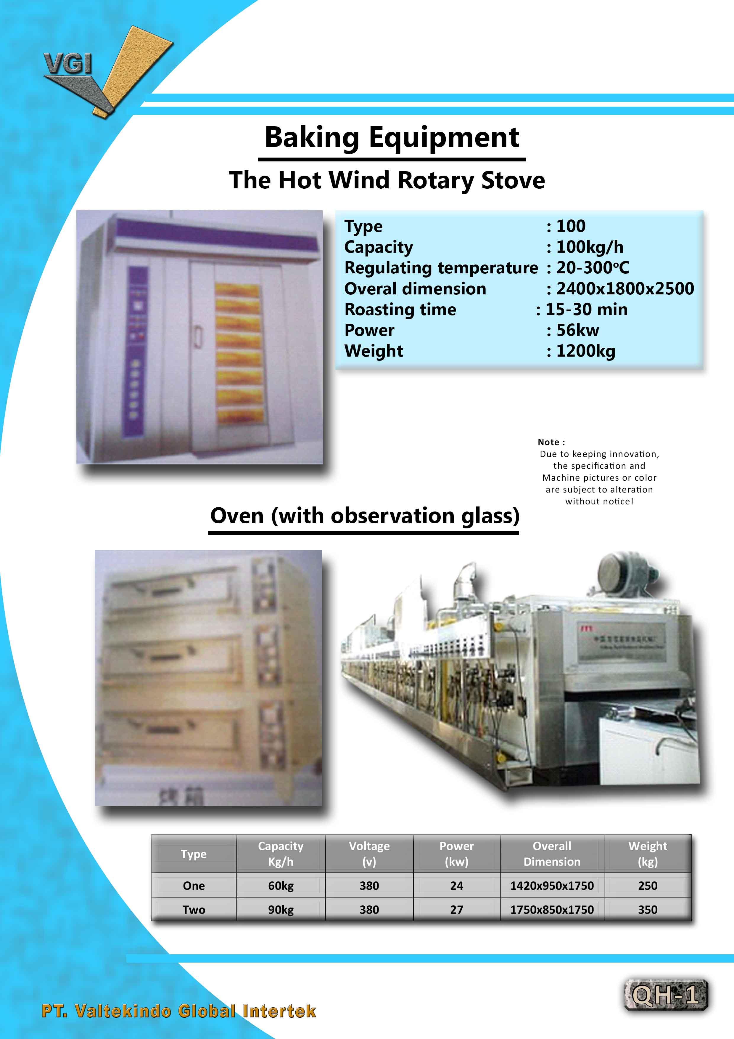 jual mesin Baking Equipment & Oven Baking Equipment & Oven