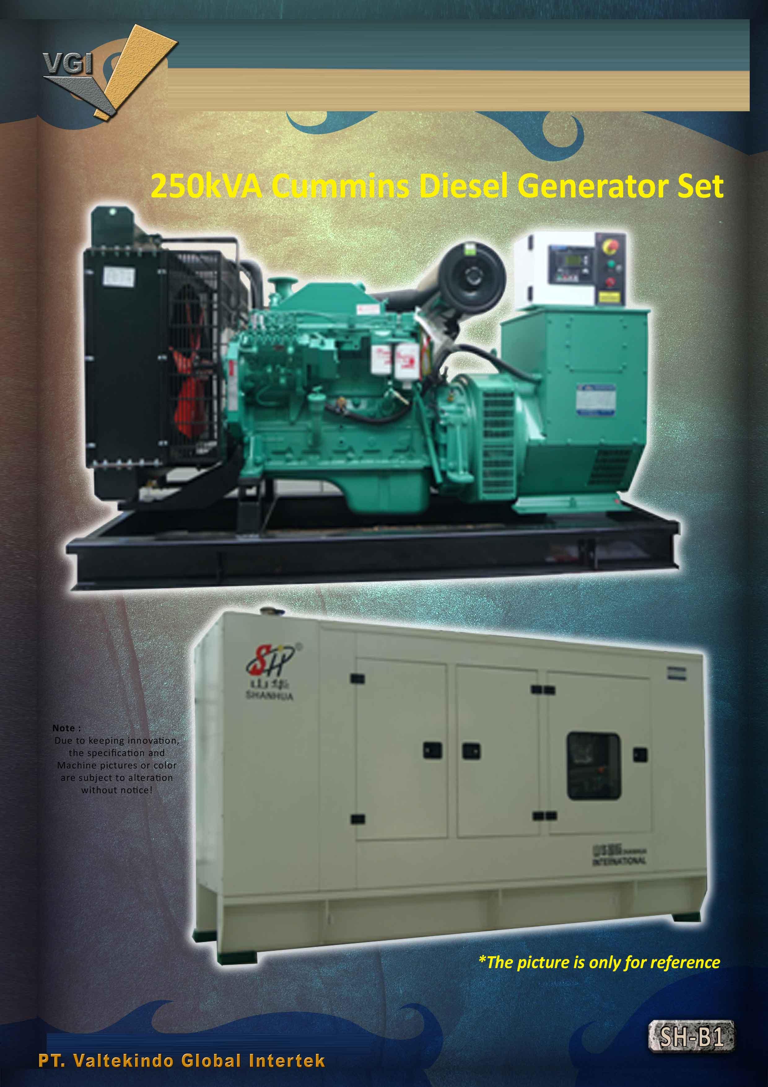 jual mesin Cummins Diesel Generator Set Cummins Diesel Generator Set