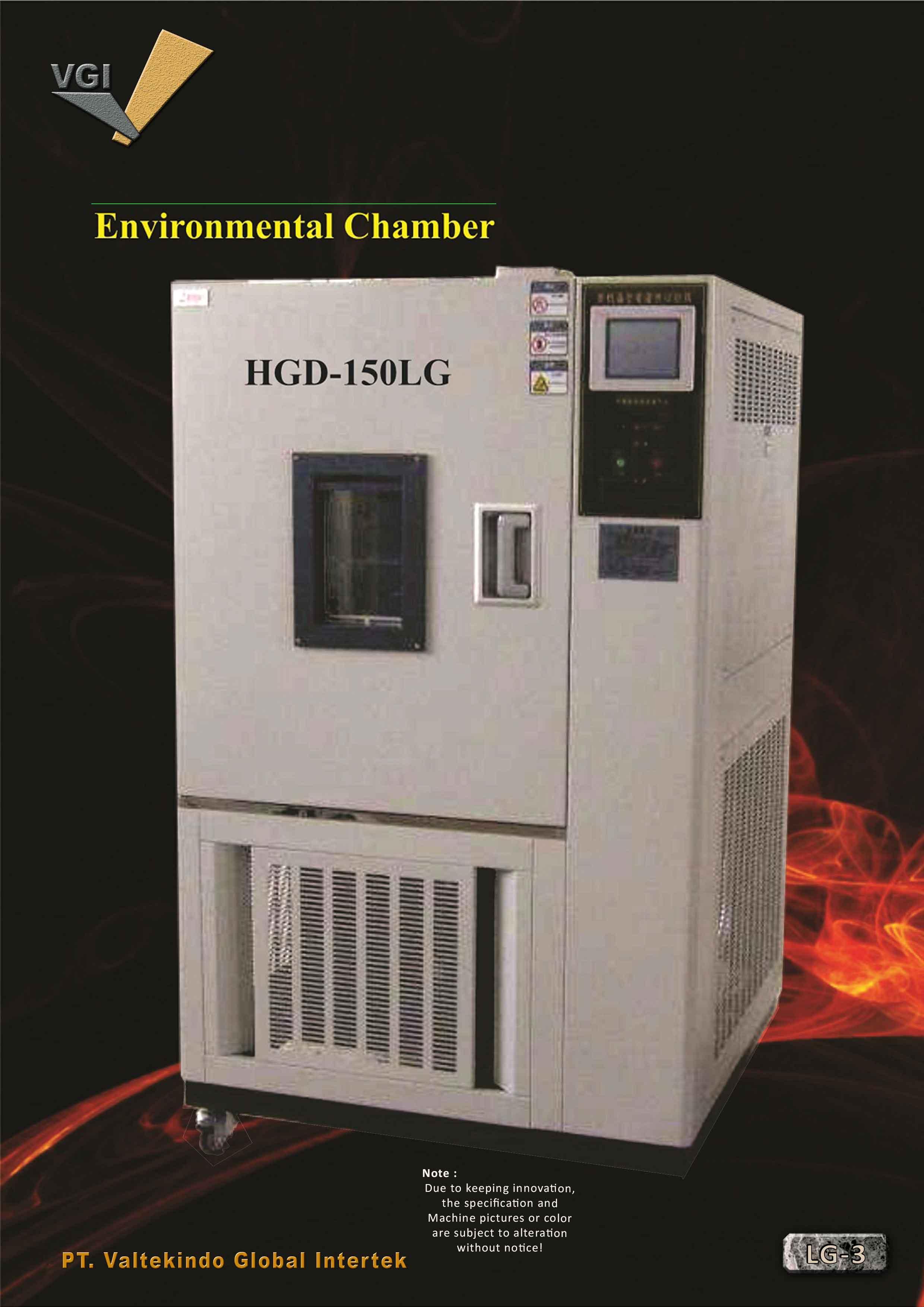jual mesin Environmental Chamber Environmental Chamber