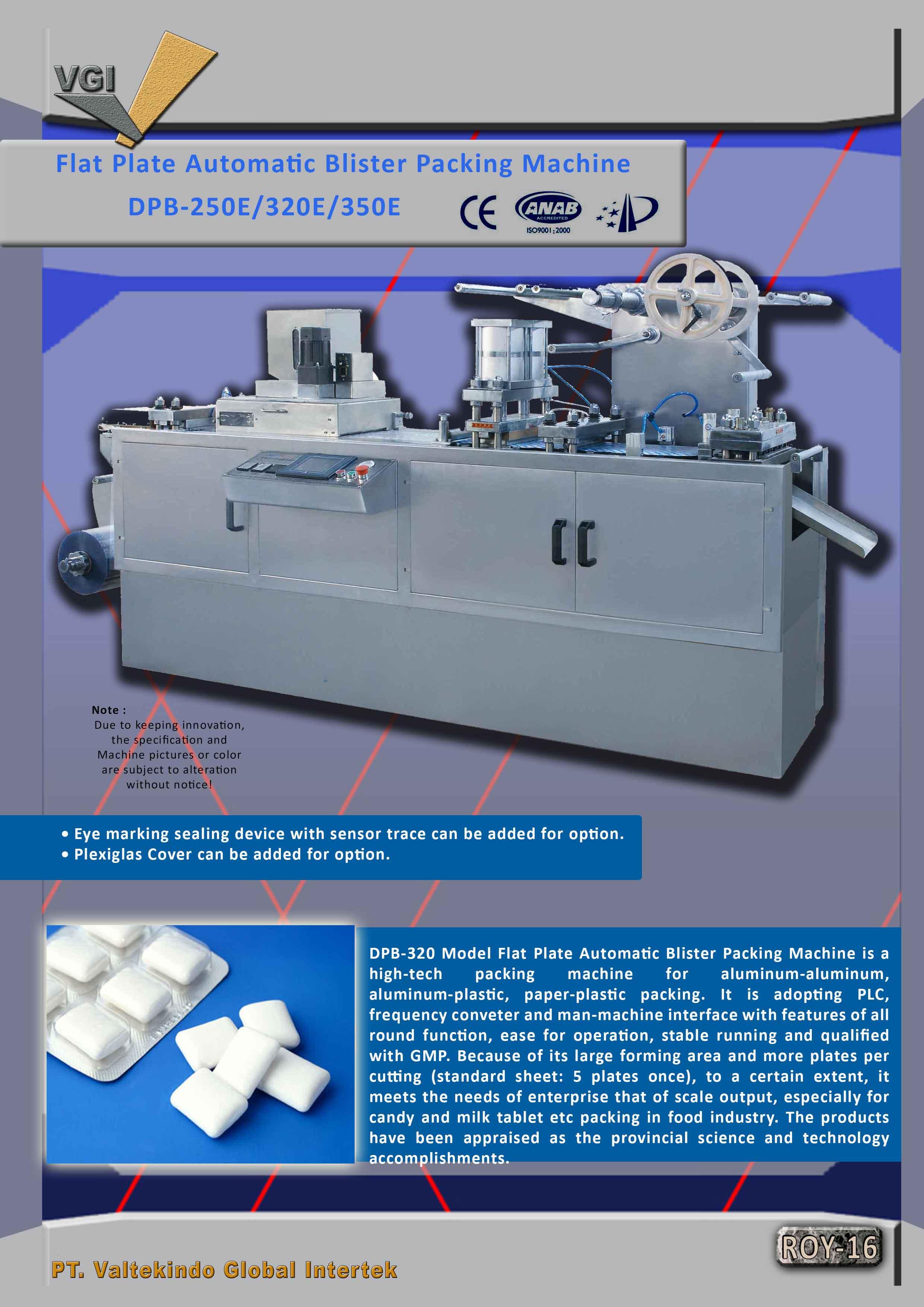 jual mesin Flat Plate Automatic Blister Packing Machine2 Flat Plate Automatic Blister Packing Machine2