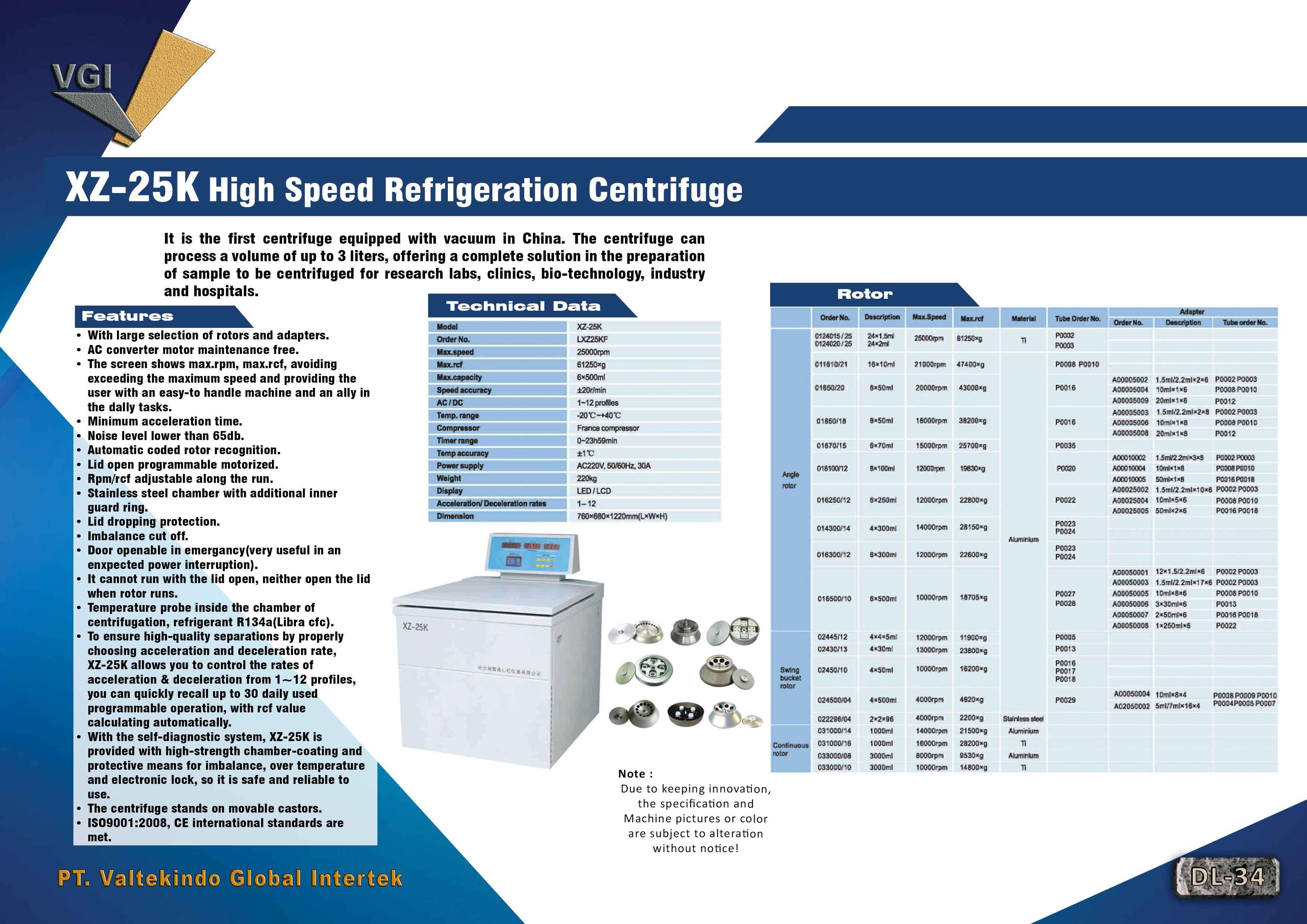 jual mesin, harga mesin, jual mesin bandung, distributor mesin, jual mesin karet, daur ulang karet, daur ulang plastik, mesin pertanian High Speed Refrigeration Centrifuge High Speed Refrigeration Centrifuge