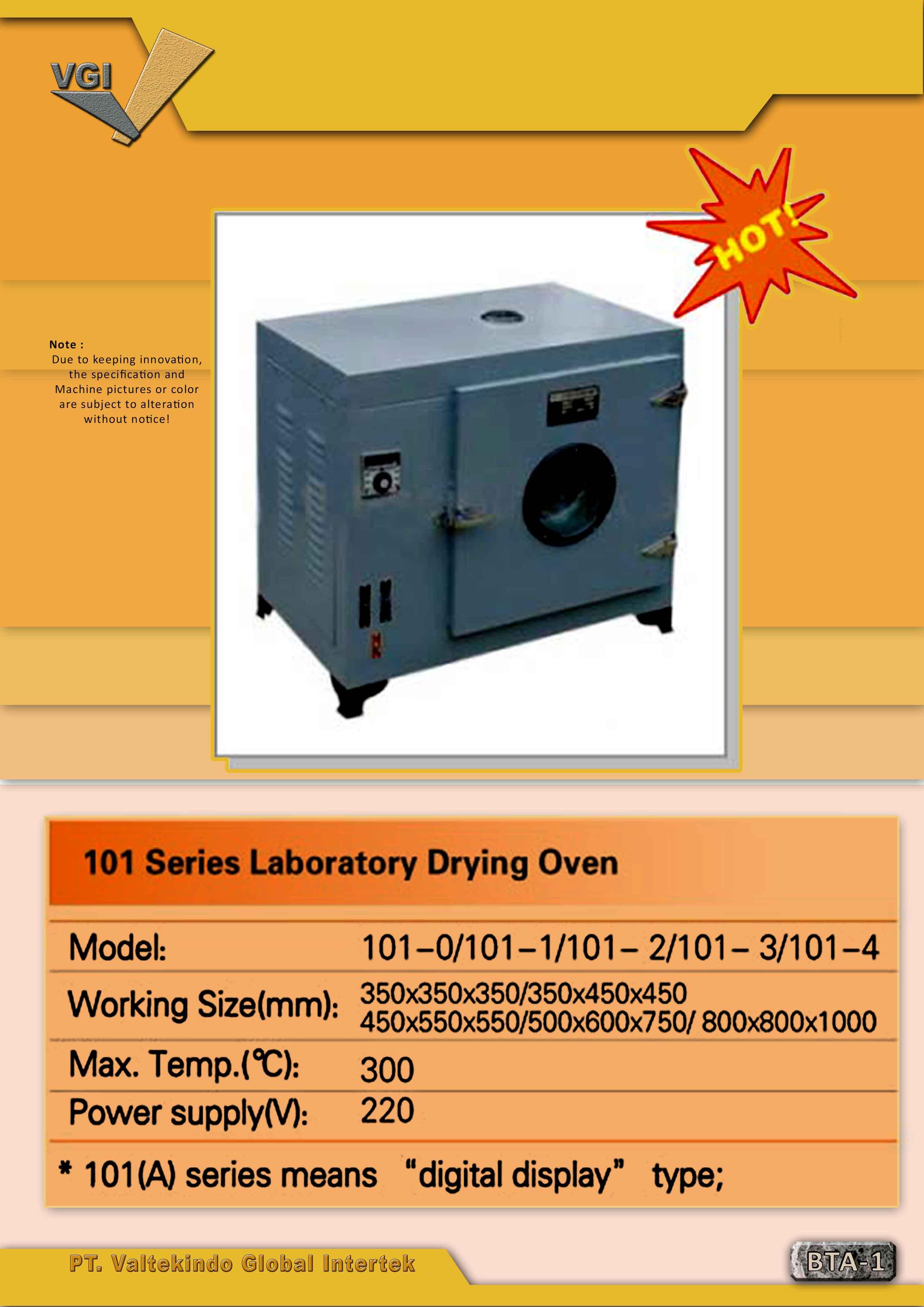 jual mesin Laboratory Drying Oven Laboratory Drying Oven