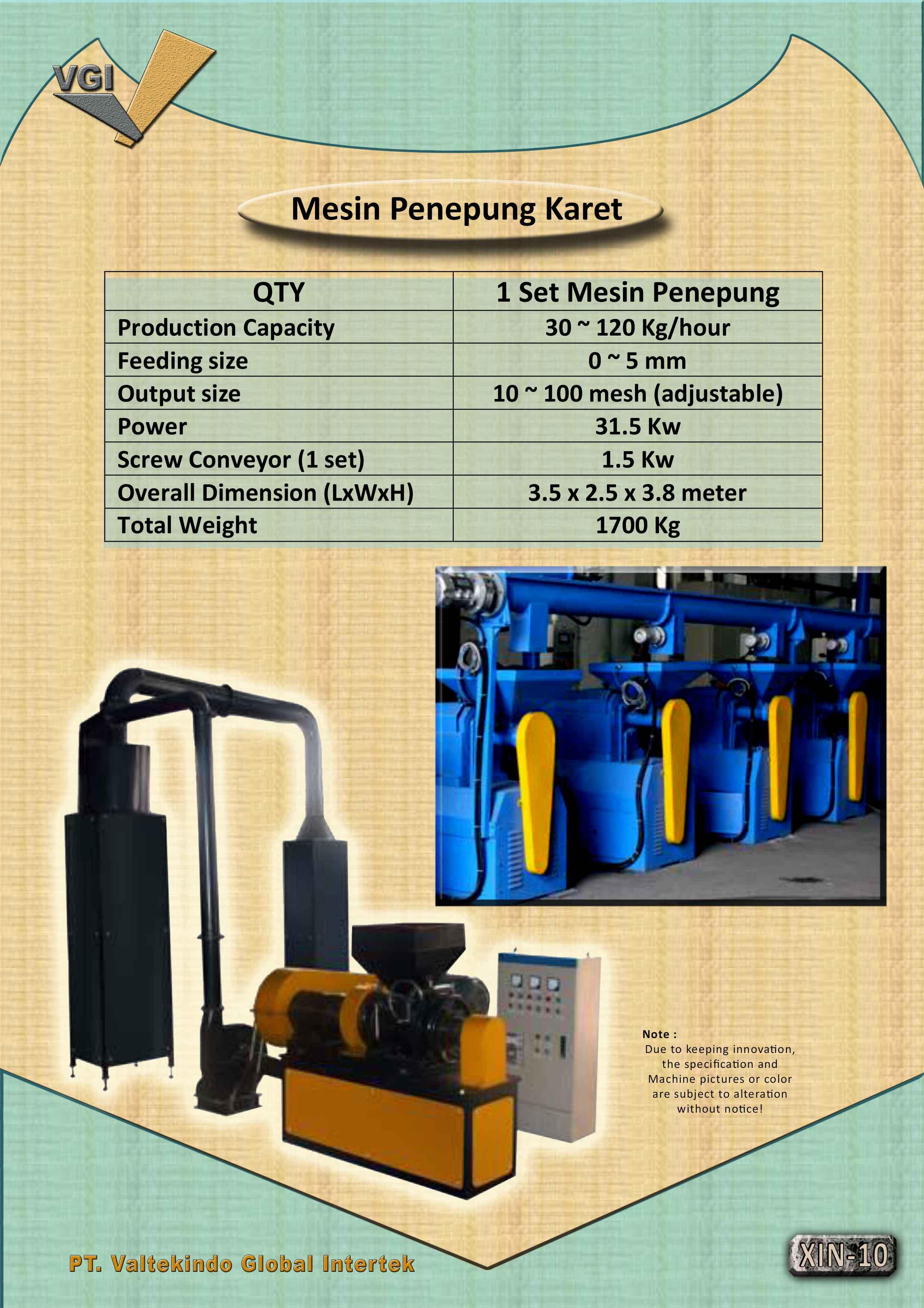 jual mesin, harga mesin, jual mesin bandung, distributor mesin, jual mesin karet, daur ulang karet, daur ulang plastik, mesin pertanian Mesin Penepung Karet Mesin Penepung Karet