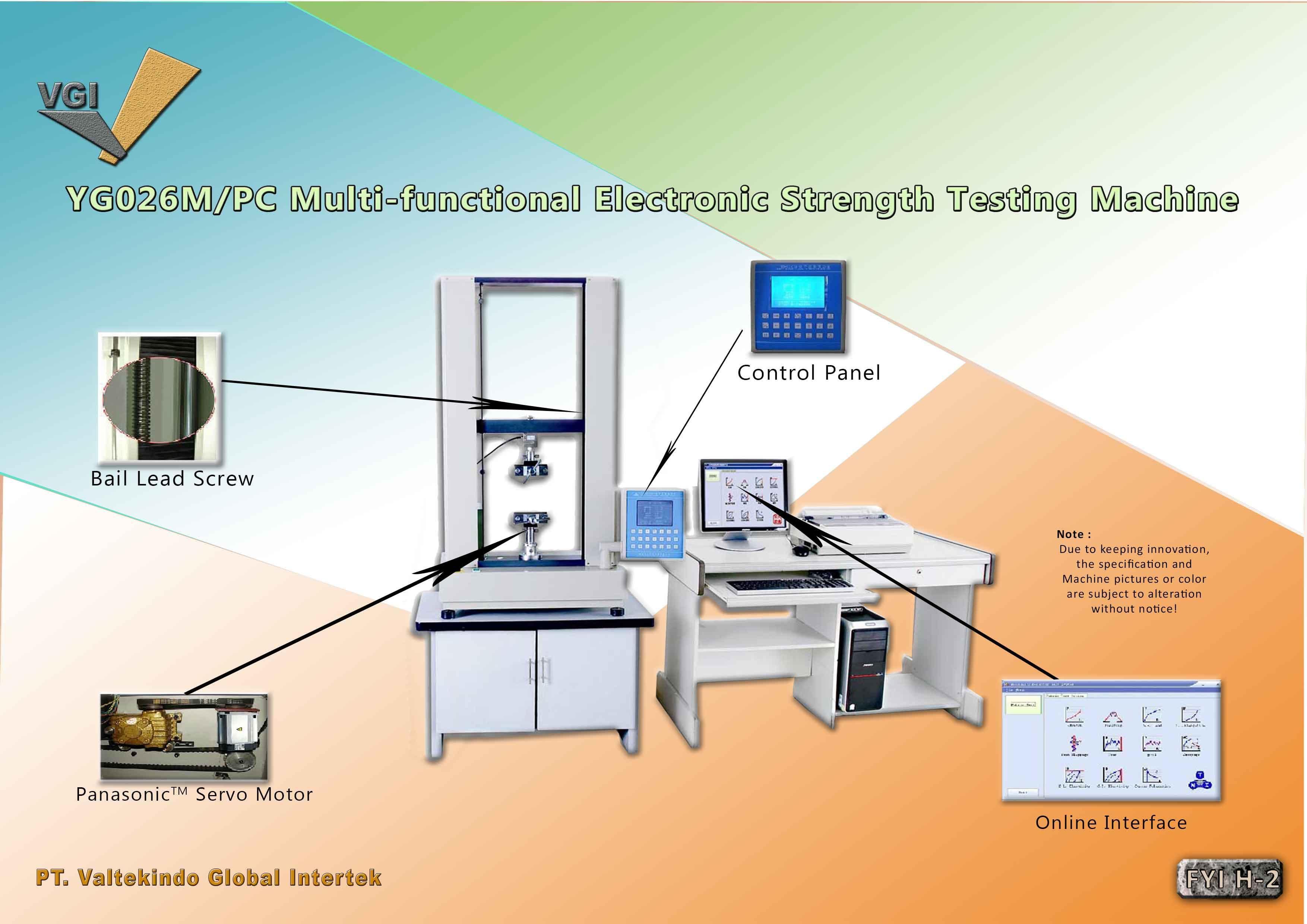 jual mesin Multi Functional Electronic Strength Testing Machine Multi Functional Electronic Strength Testing Machine