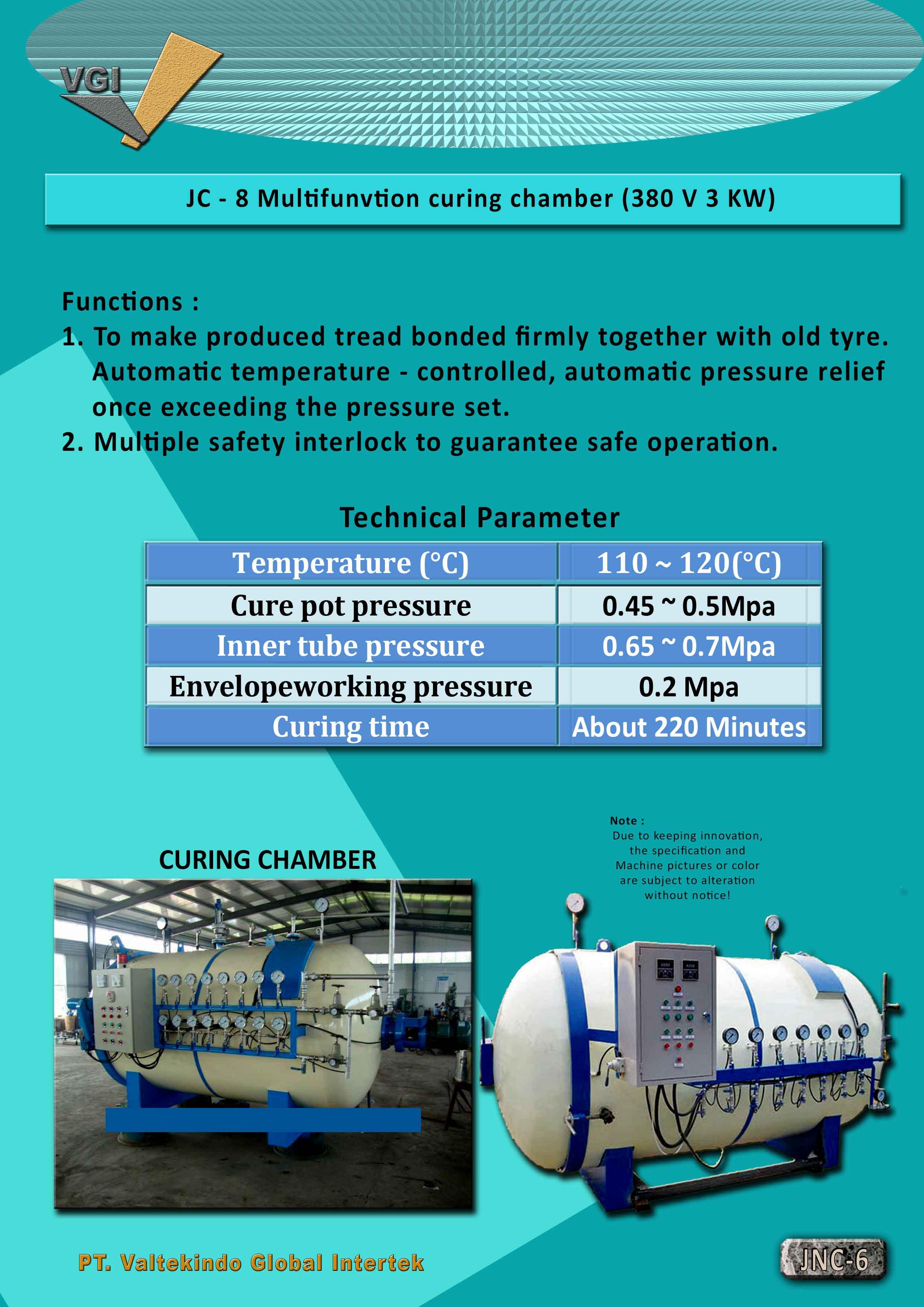jual mesin Multifanction Curing Chamber Multifanction Curing Chamber
