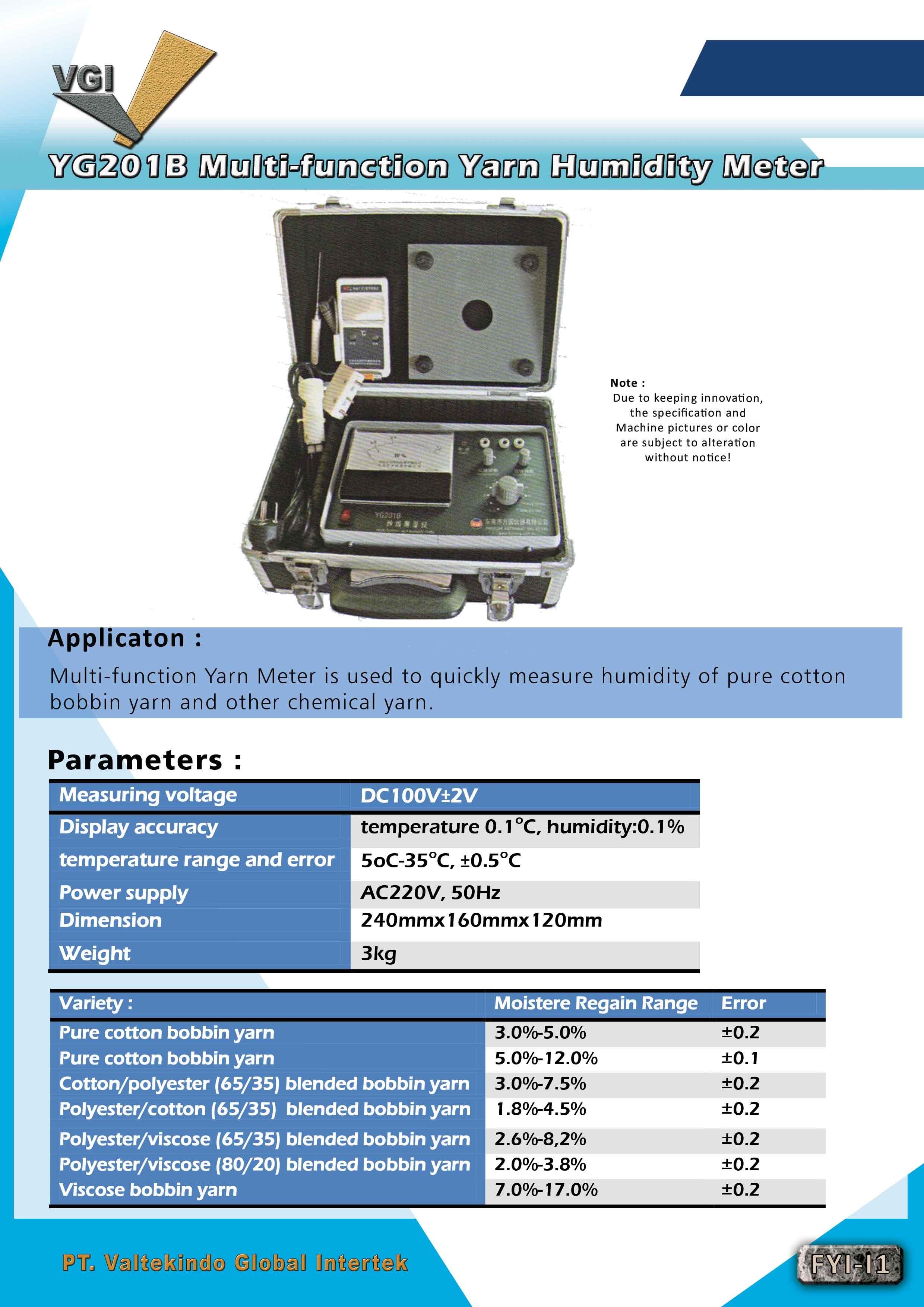 jual mesin Multi-Function Yarn Humidity Meter Multi-Function Yarn Humidity Meter