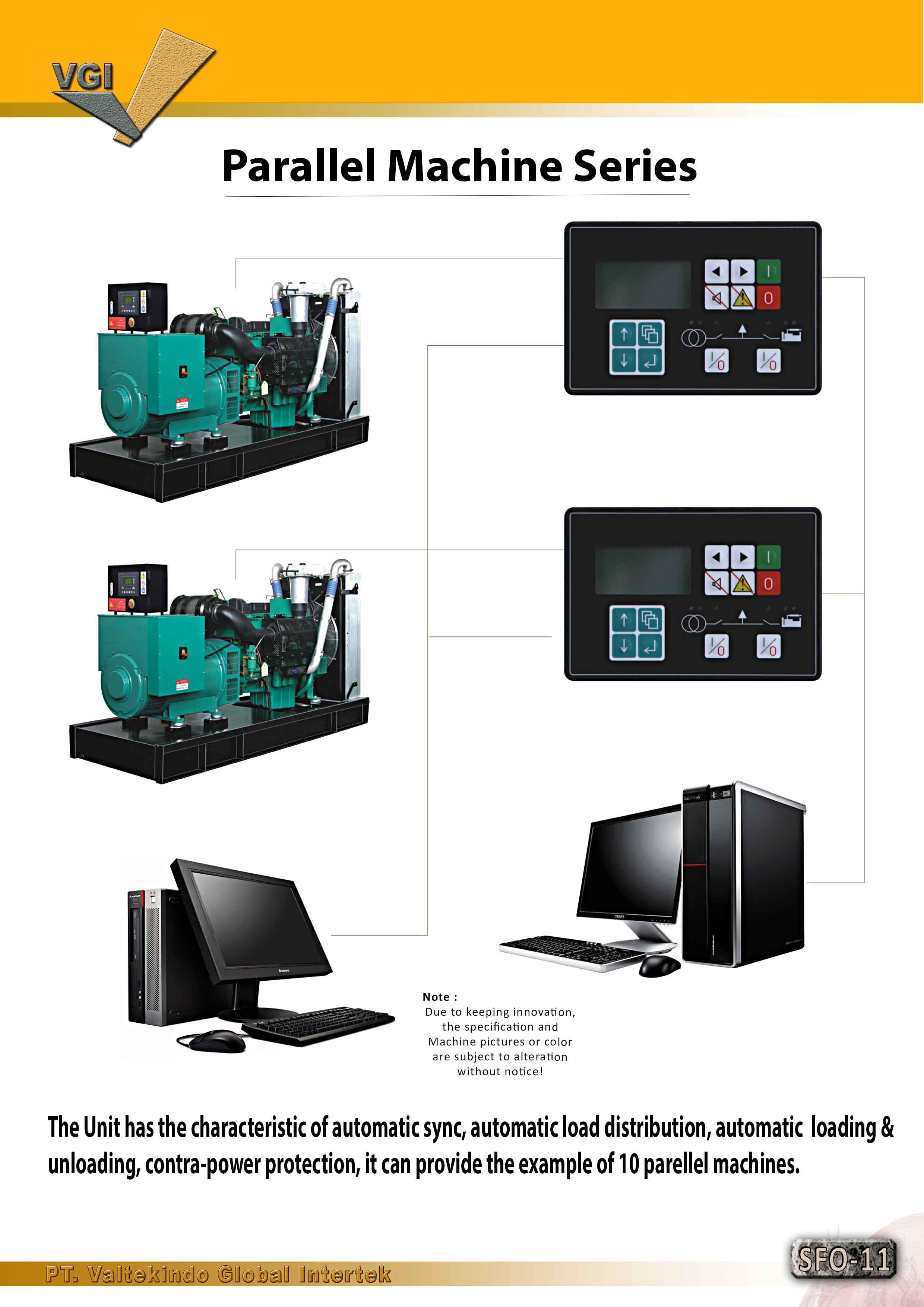 jual mesin Parallel Machine Series Parallel Machine Series
