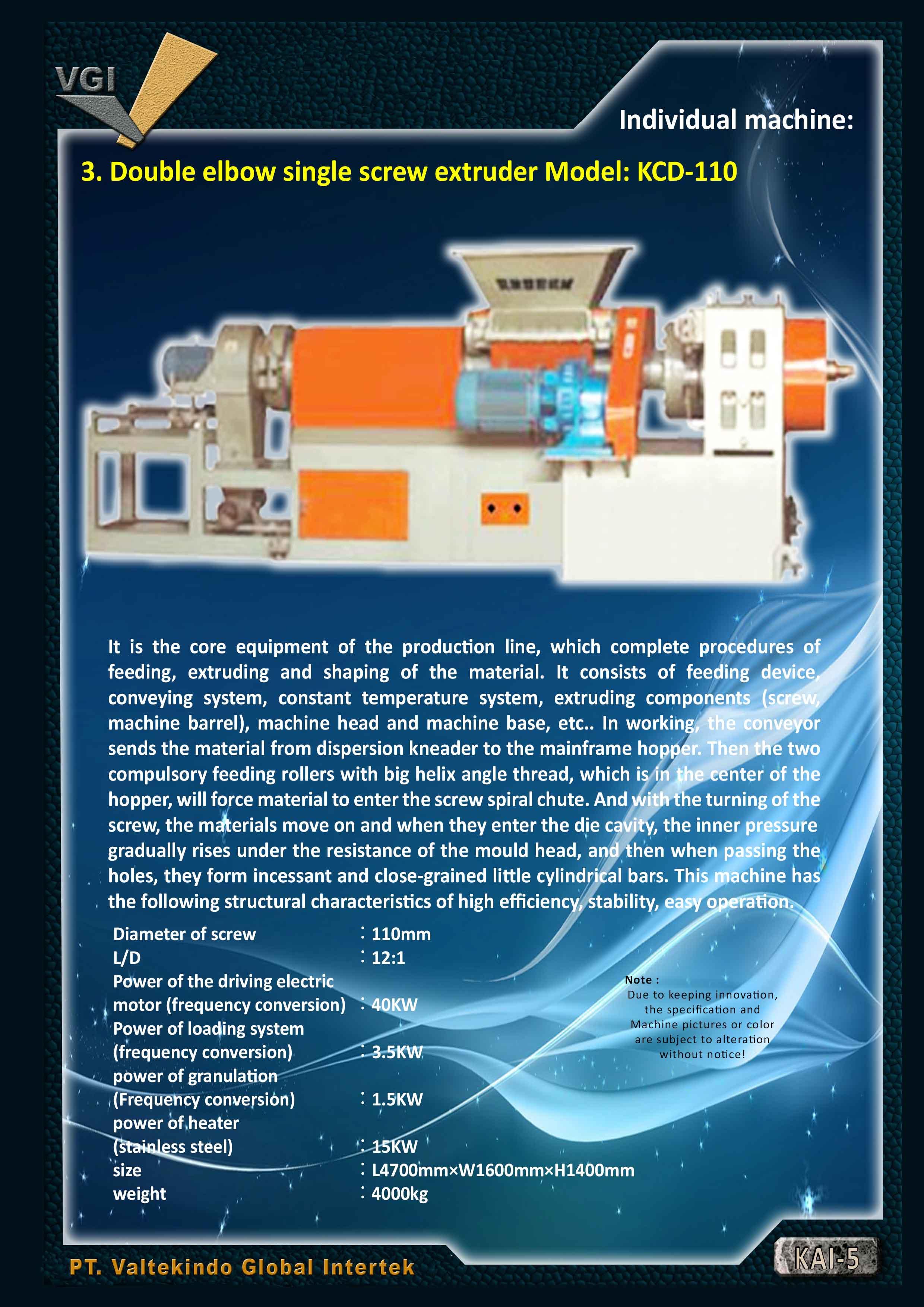 jual mesin Pembuat biji karet 100~150Kg per hour 4 Pembuat biji karet 100~150Kg per hour 4