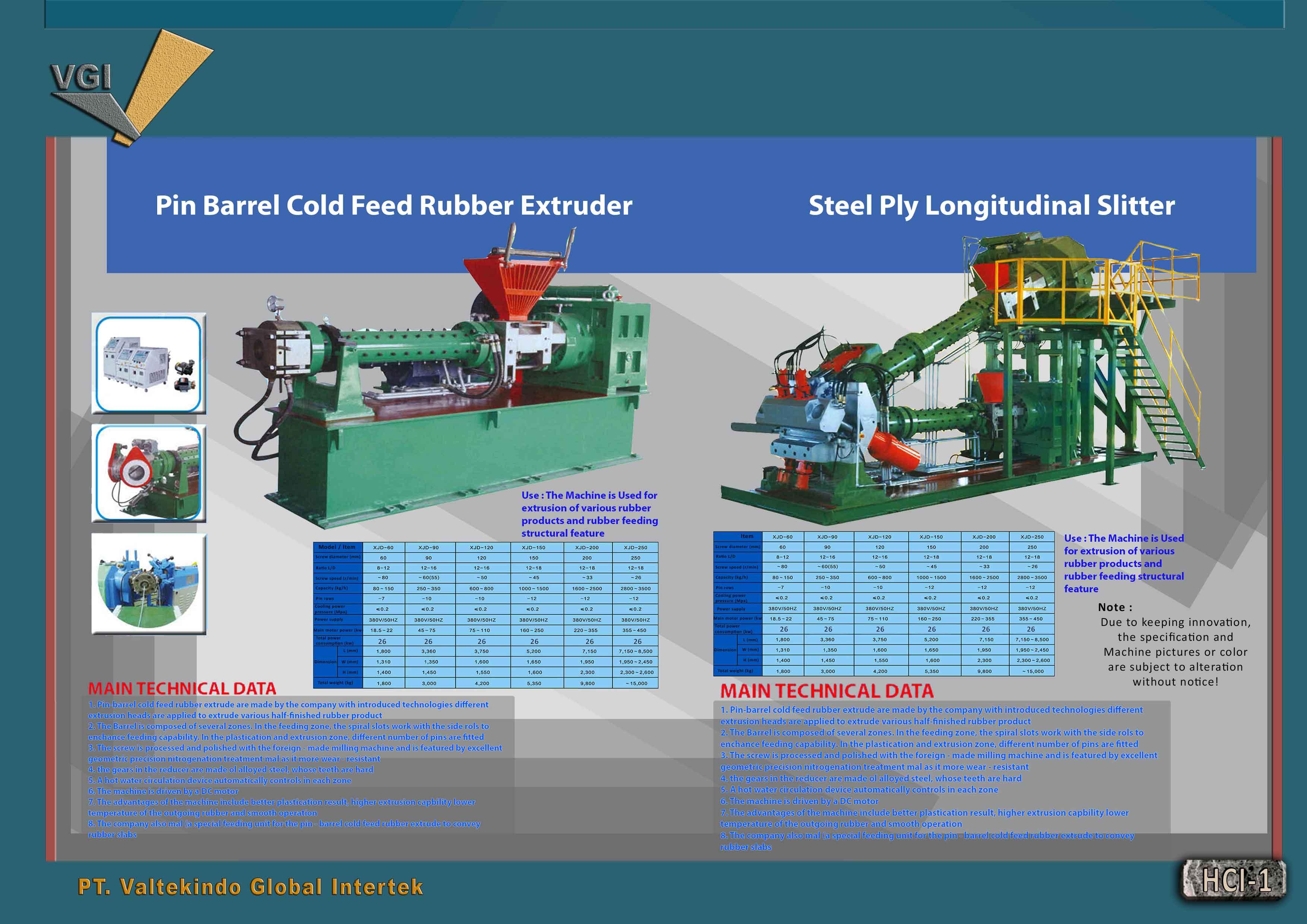 jual mesin, harga mesin, jual mesin bandung, distributor mesin, jual mesin karet, daur ulang karet, daur ulang plastik, mesin pertanian Pin Barrel Extruder Steel Ply Longitudinal Slitter Pin Barrel Extruder Steel Ply Longitudinal Slitter