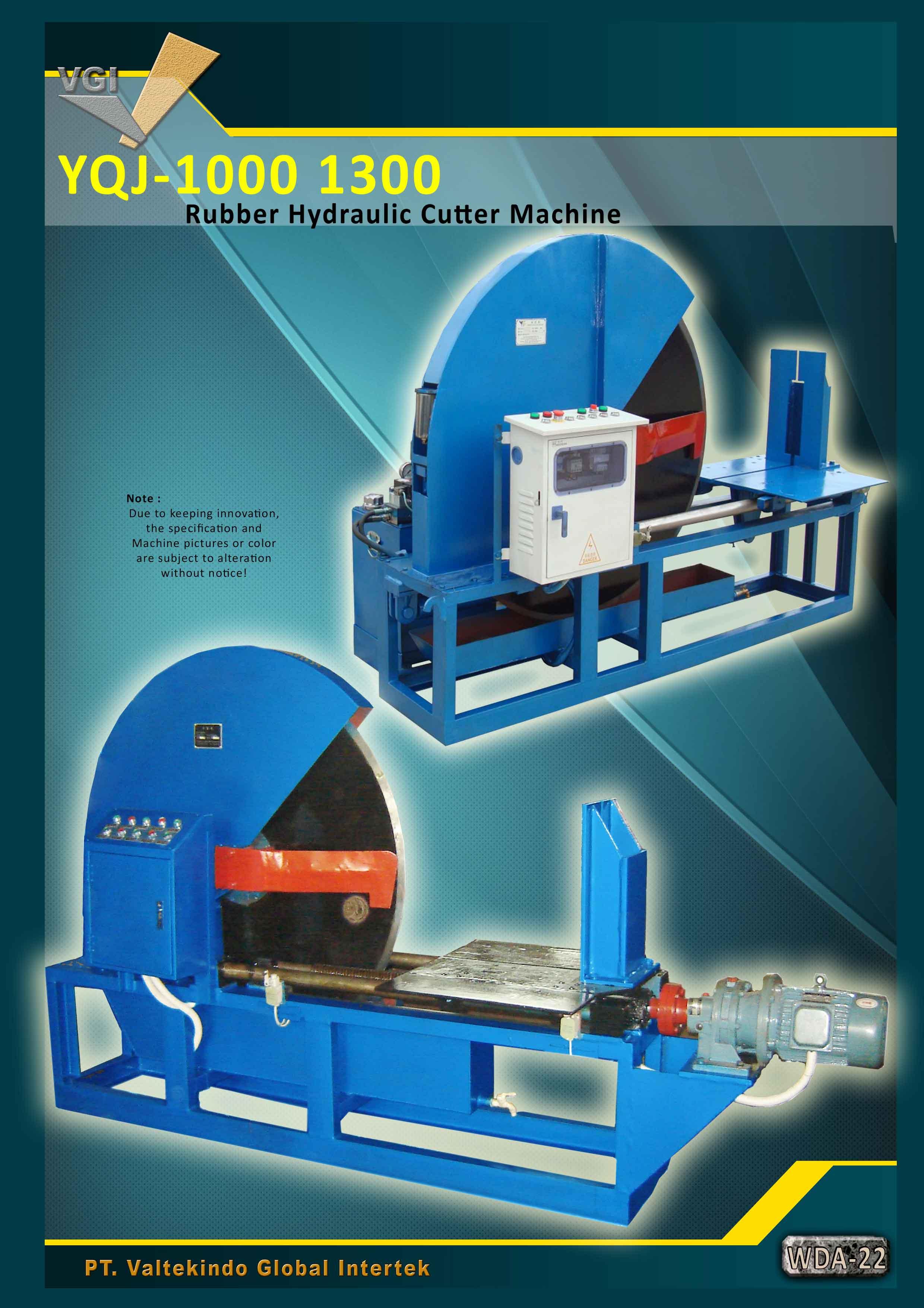 jual mesin Rubber Hydraulic Cutter Machine 1 Rubber Hydraulic Cutter Machine 1