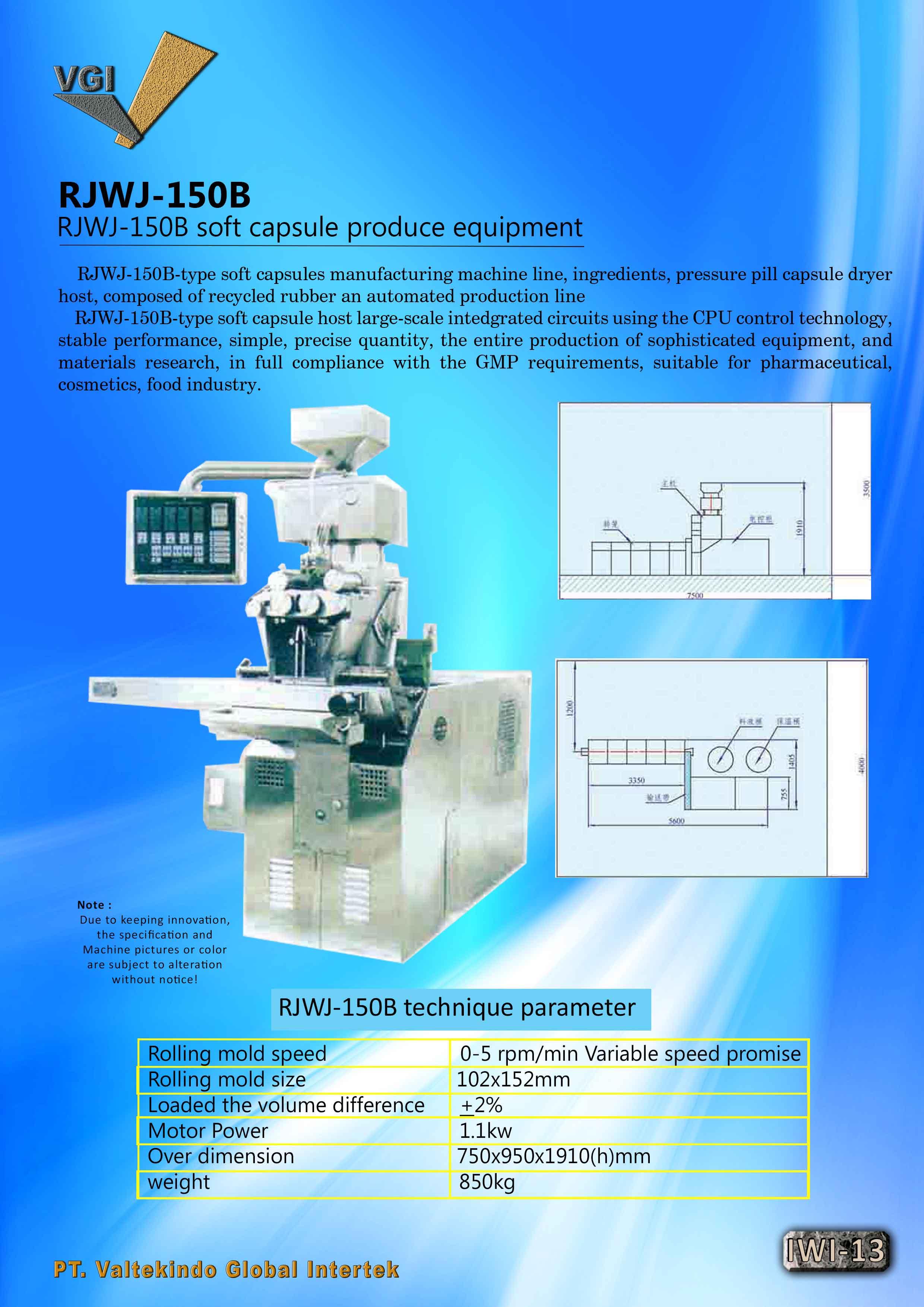 jual mesin Soft Capsule Produce Equipment2 Soft Capsule Produce Equipment2