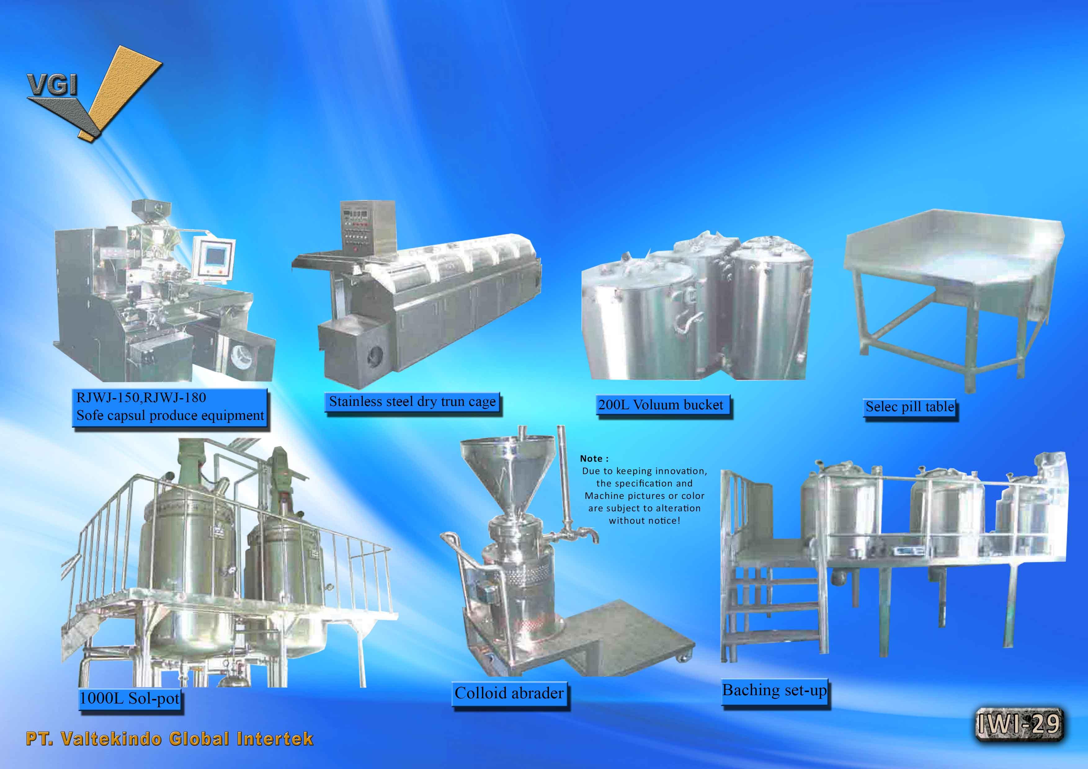jual mesin Soft Capsule Produce Equipment8 Soft Capsule Produce Equipment8