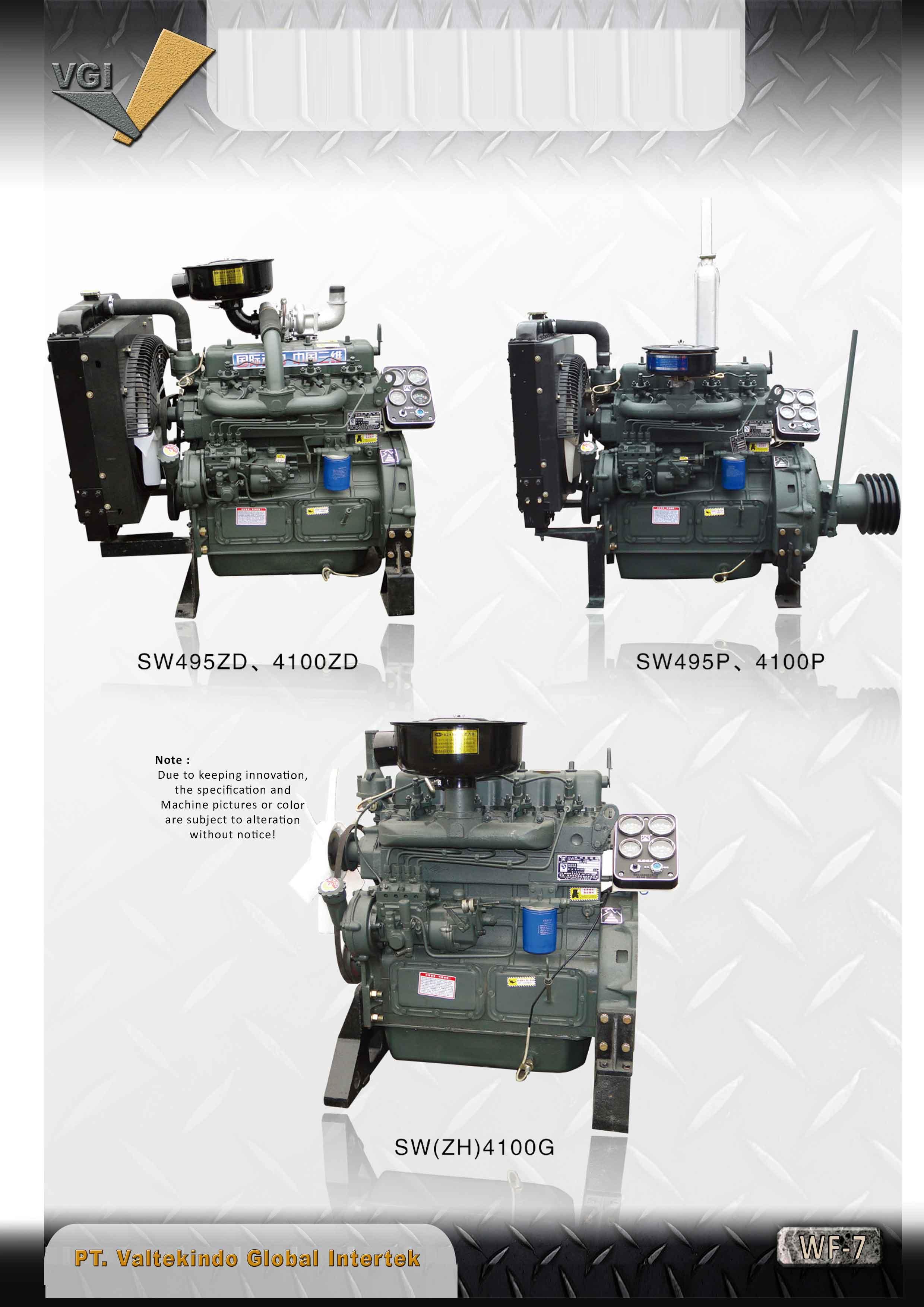 jual mesin Steyr Diesel Engine Series Steyr Diesel Engine Series