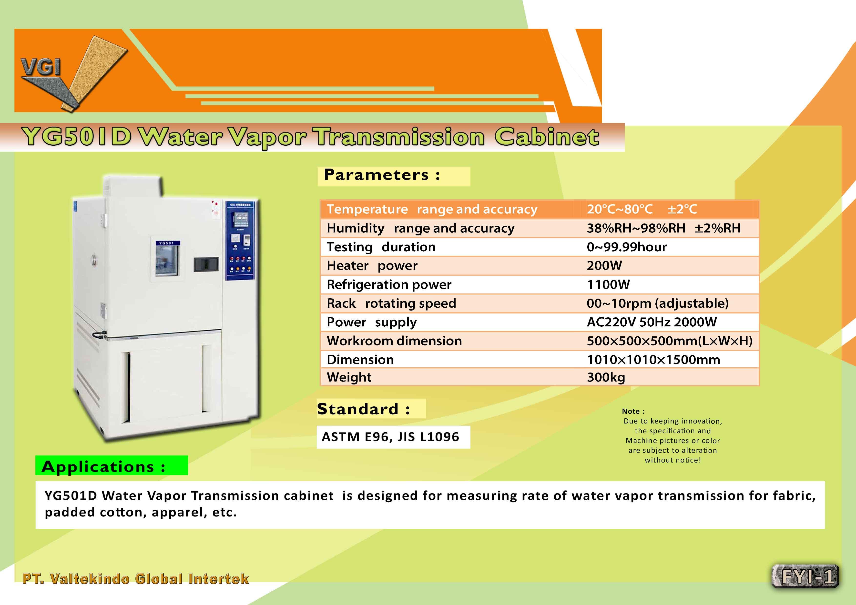 jual mesin, harga mesin, distributor mesin, jual mesin karet, daur ulang plastik Water Vapor Transmission Cabinet  Water Vapor Transmission Cabinet